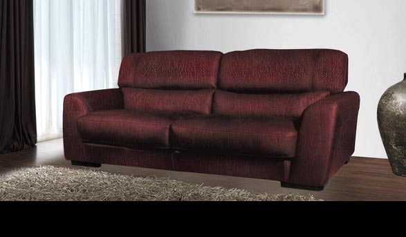 Adrian - Leather Sofa for $899 | Contempo Sofa