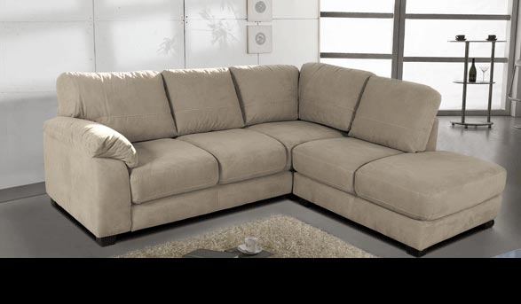Bryce - Microfiber Sectional for $699 | Contempo Sofa