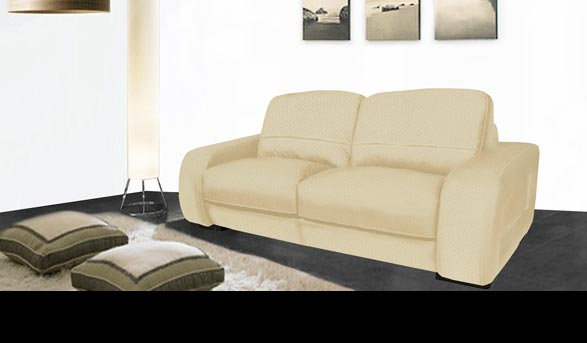 Diego - Leather Sofa for $899 | Contempo Sofa
