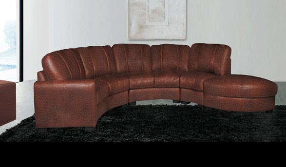 Jonathan - Leather Sectional for $2599 | Contempo Sofa