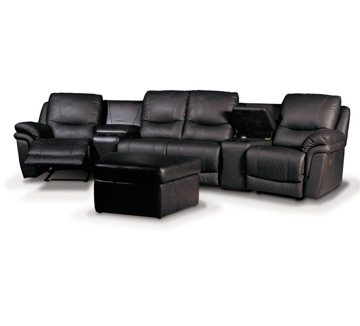 Patrick Home Theater Seating Contempo Sofa - Home theater sofa