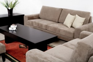 Need to the zap out of your microfiber furniture?