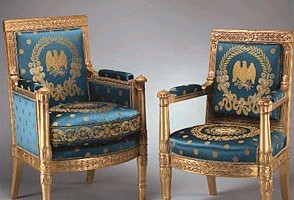 Two gorgeous Bellange chairs