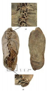 Chalcolithic era leather shoe found in Armenia