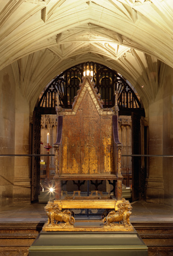 King Edward's Chair: the Throne of England