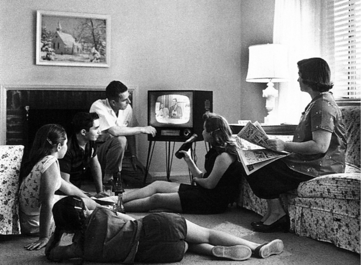 Gathering around the TV is nice but why not go play a game of football instead?