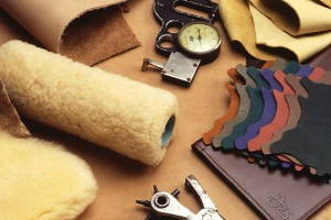 Italian leather is hand-crafted for timeless quality and durability.