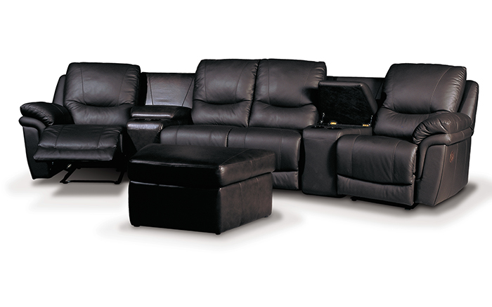 Home theater seating you contempo sofa blog Loveseat theater seating