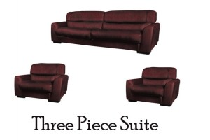 Try on a Three Piece Suite