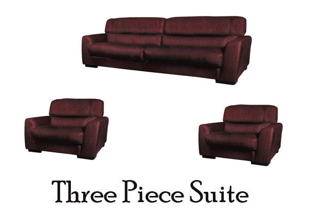 Try on a three piece suite contempo sofa blog contempo for Furniture 3 piece suites