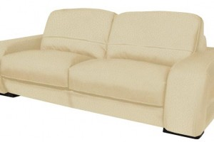 Diego Leather Loveseat