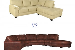 Contempo Sofa products are upholstered in either leather or microfiber. How will you know which is right for you?